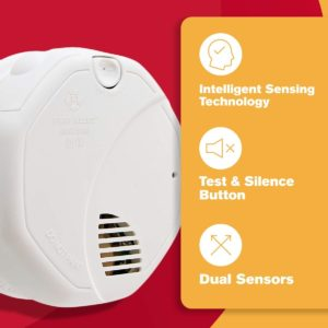 FIRST ALERT DUAL SMOKE AND FIRE DETECTORS