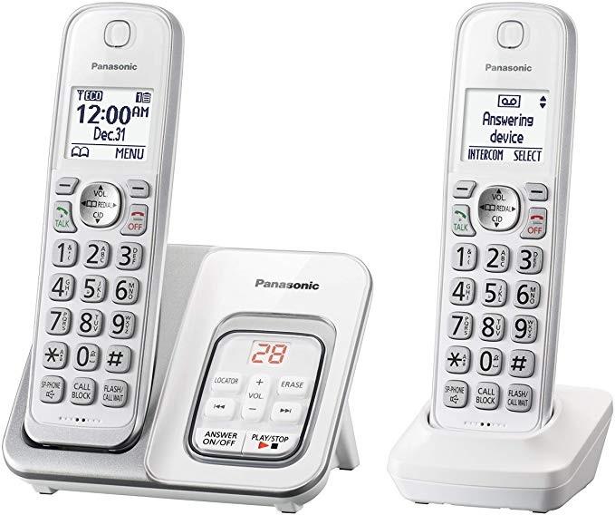 PanaTGD532W Landline Phone