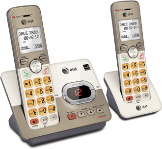 AT&T 2-Handset Expandable Cordless Phone