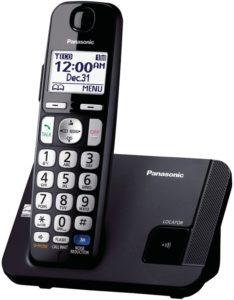 Panasonic KX–TGE21OB Cordless Phone
