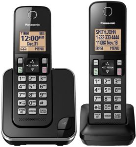 Panasonic KX- TGC352B Cordless Phones With Headset