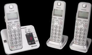 Panasonic KX- TGE 463s Cordless Phones With Headset