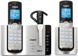 V Tech DS6671 – 3 Cordless Phones