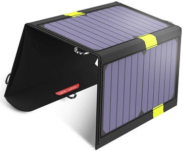 Anker 21W Portable Solar Phone chargers for cell phones