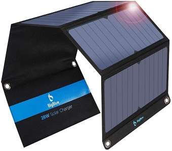 BigBlue Upgraded Solar Chargers for cell phones