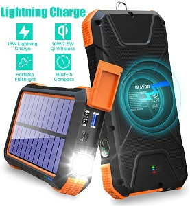 Blavor Solar Power Chargers for cell phones