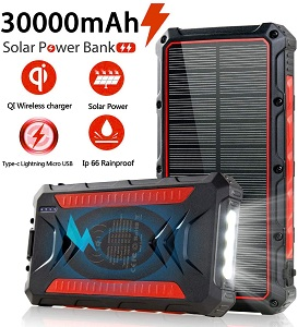 Feeke Solar Power Bank