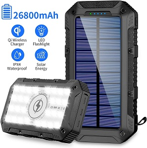 GRDE Portable Solar Charger