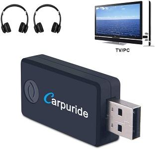 Carpuride TX9 USB Bluetooth Transmitter for TV