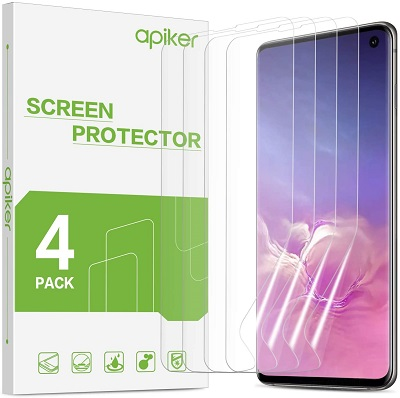 Apiker Screen Protector for Galaxy S10