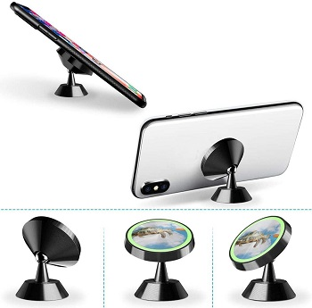 Gturtle Universal Magnetic Dashboard Cell Phone Holders for Cars