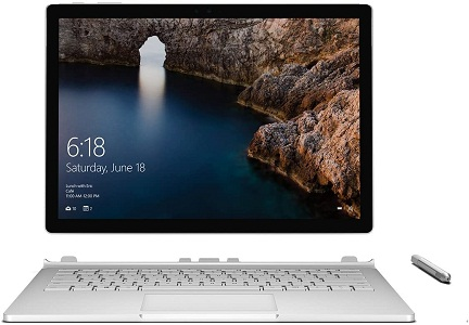 Microsoft Surface Book - Longest Battery Life Laptops