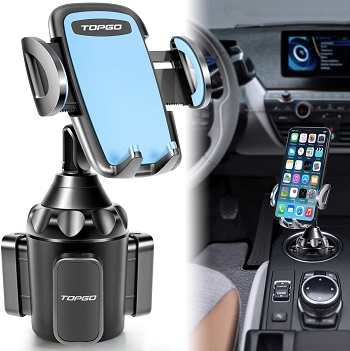 TOPGO Cup Holder Phone Mount - Cell Phone Holders for Cars