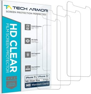 Tech Armor HD for iPhone 11 and iPhone Xr