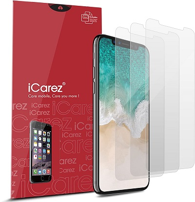iCarez Protector for iPhone 11 Pro iPhone X and Xs