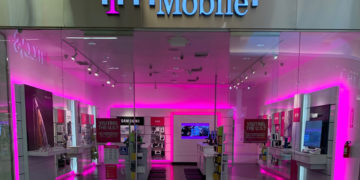 T-Mobile Signal Booster showroom