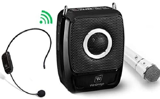 WinBridge Portable PA Speaker Sound System