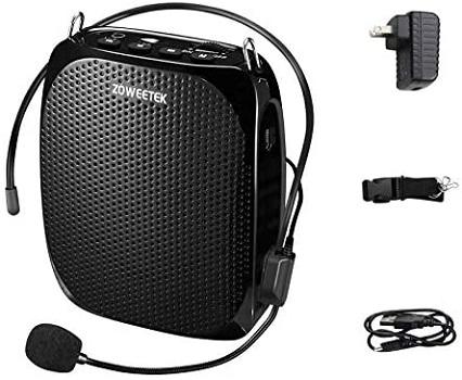 Zoweetek Mini Voice Amplifier and Classroom Microphone