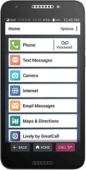 GreatCall Jitterbug Smartphone - Consumer Cellular Phones For Seniors
