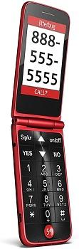 Jitterbug Flip Easy-to-Use Cell Phone - Consumer Cellular Phones For Seniors