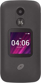 TracFone Alcatel MyFlip 2, 4GB Black - Prepaid Flip Phone