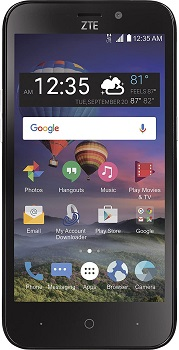 TracFone ZTE ZFive 2 4G LTE Prepaid Smartphone