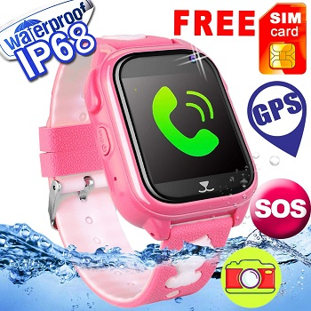 Kids Phone Smartwatch with SIM Card Supported
