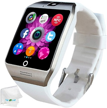 TopePop Bluetooth Smartwatch - SIM Card Supported