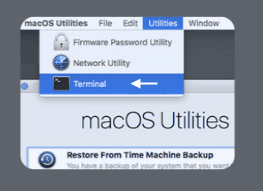 Restart your MacBook Pro