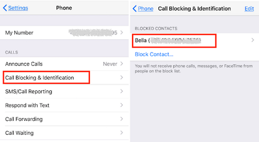Unlock someone on your contact list on iphone-1