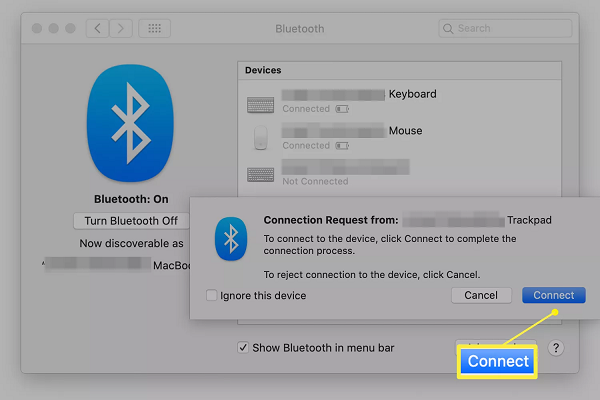 Click to Connect a Wireless Mouse