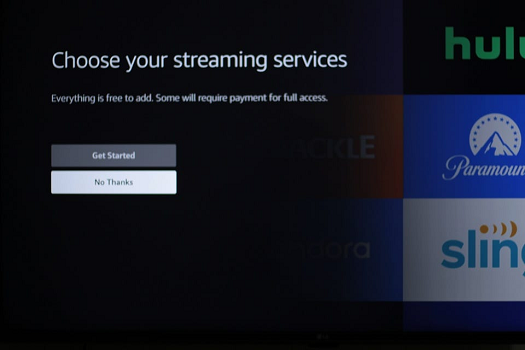 install the streaming apps