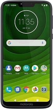 Motorola Moto G7 supra Cricket Compatible Phone